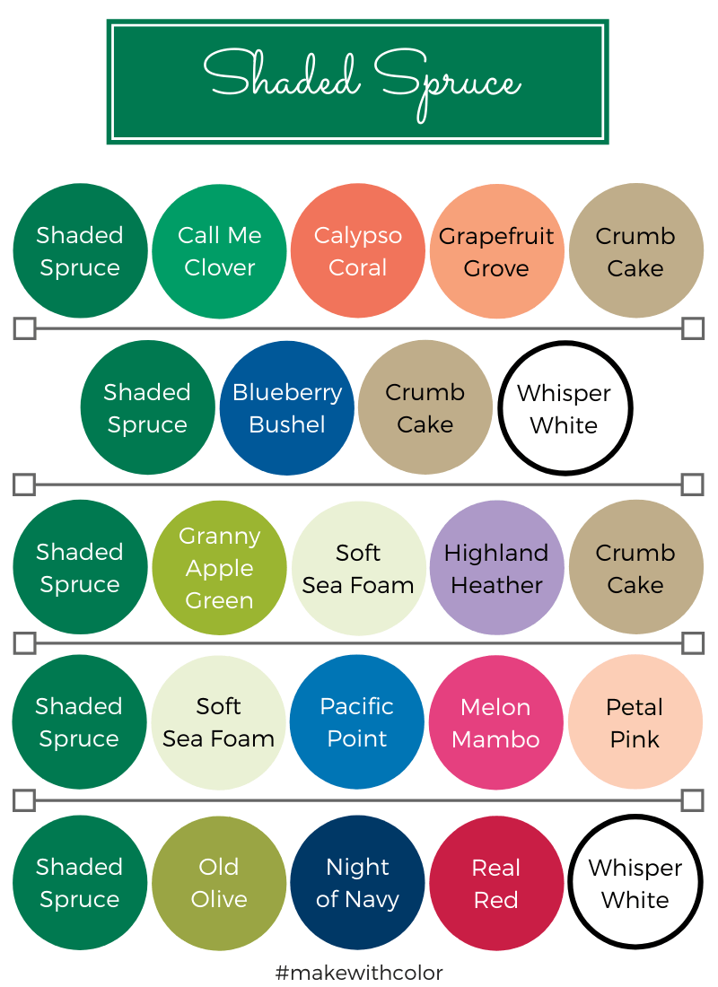 Color Combos Shaded Spruce