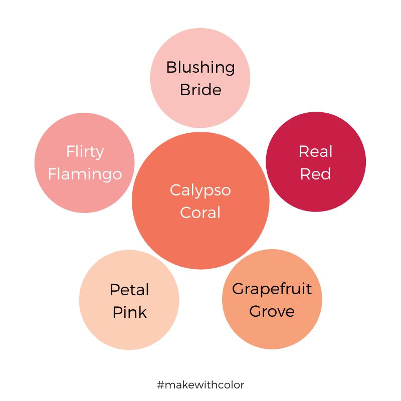 Color Comparison Calypso Coral