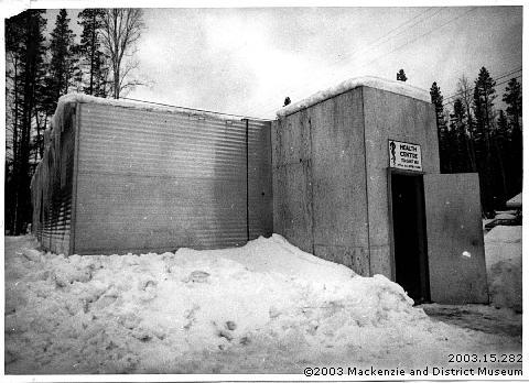 Mackenzie's first health centre, 1971