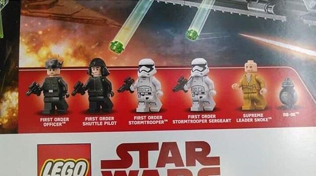 set LEGO The Last Jedi