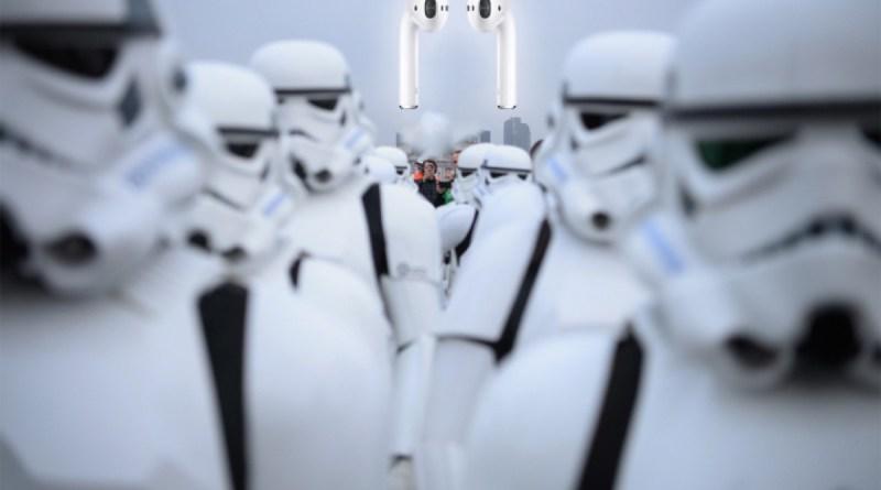 AirPods e Stormtrooper