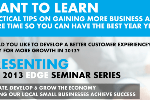The 2013 Riverview EDGE Series – Small Business Development