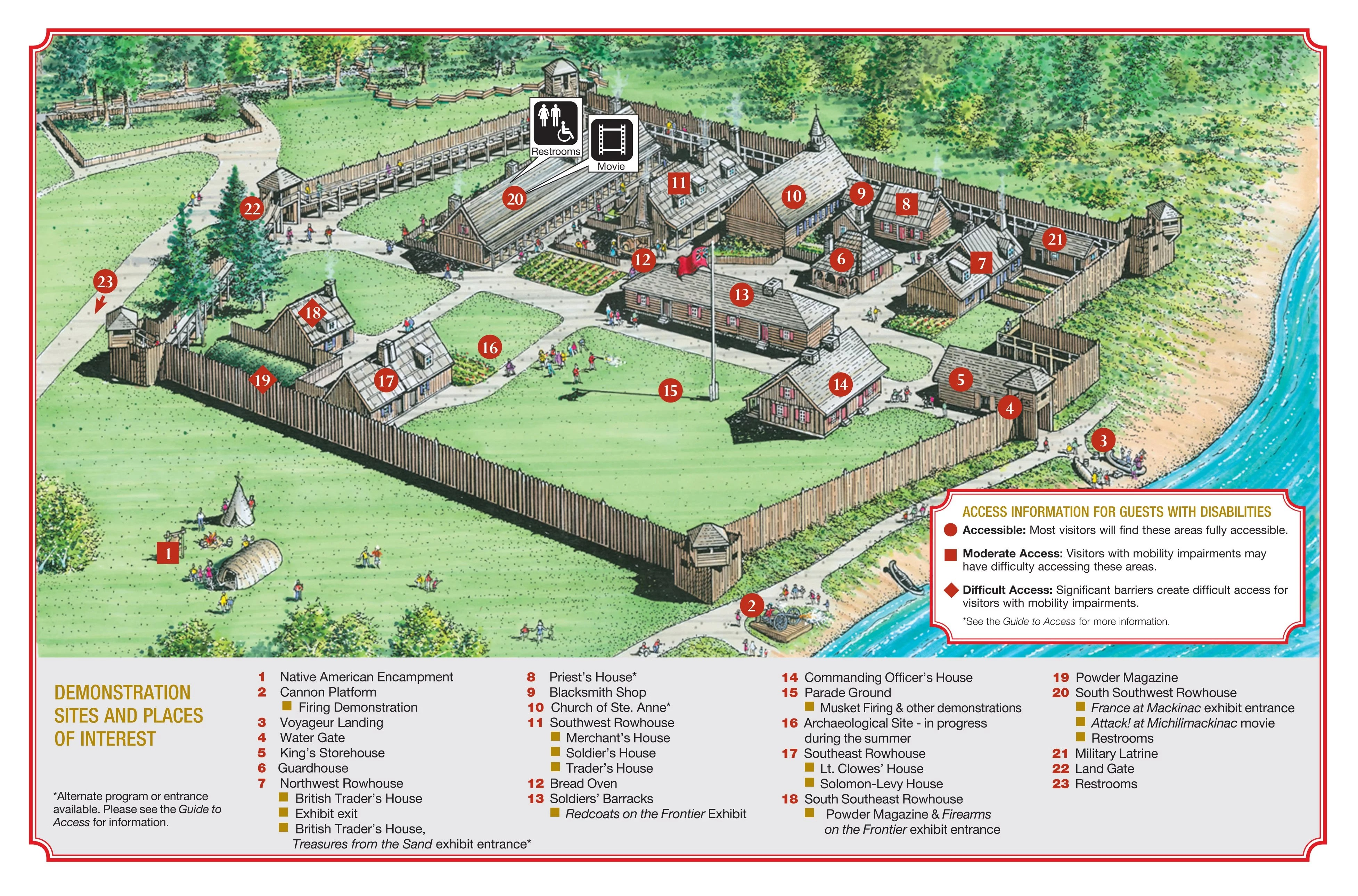 Colonial Michilimackinac