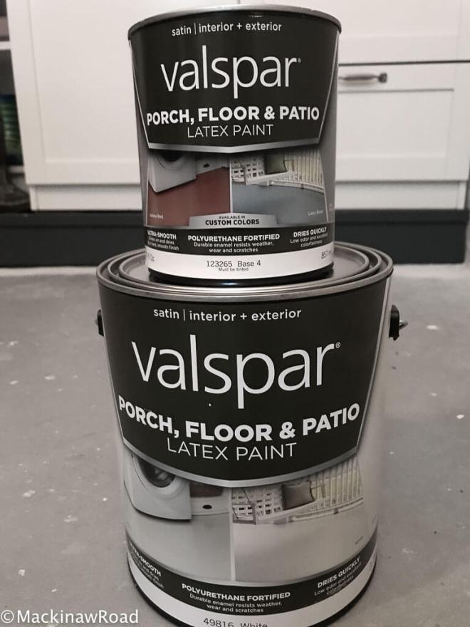 Stencil Floor Paint
