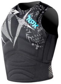 Flotation vest for kiteboarding
