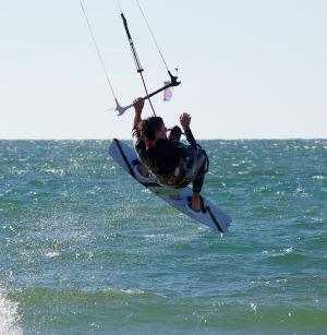 Commit to the kitebaording trick