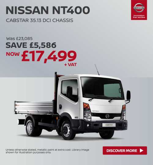 small resolution of  nissan nt400 cabstar nissan cabstar chassis cab 221118 banner 2