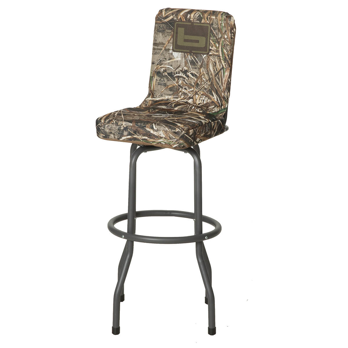 big and tall hunting chairs revolving chair for doctor duck stools the blind field marsh banded hi top