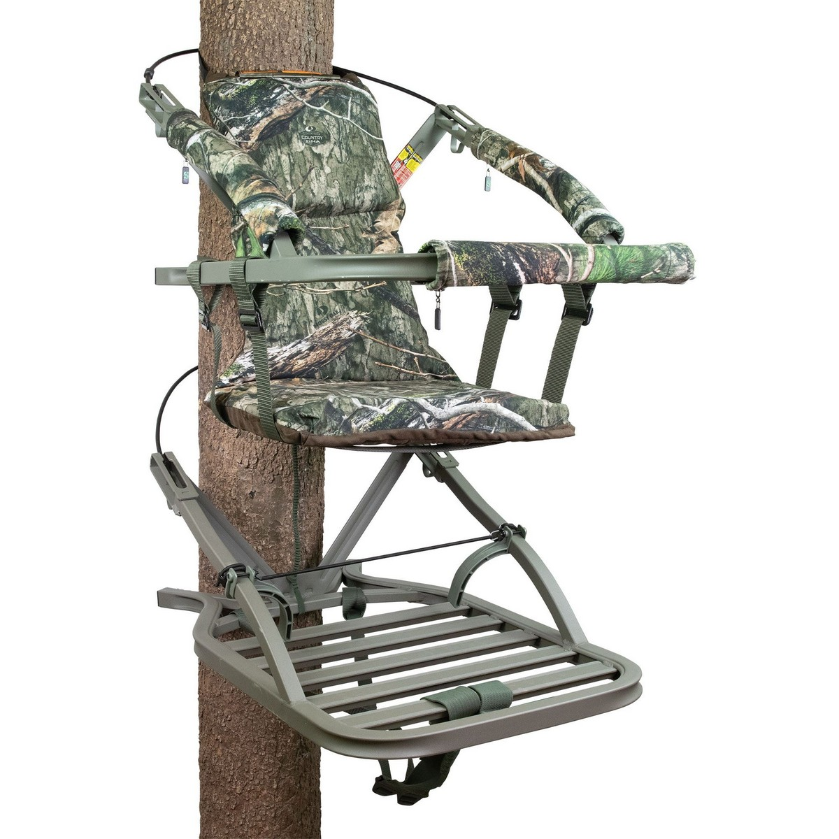 summit trophy chair review round padded folding chairs universal replacement treestand seat viper sd climbing