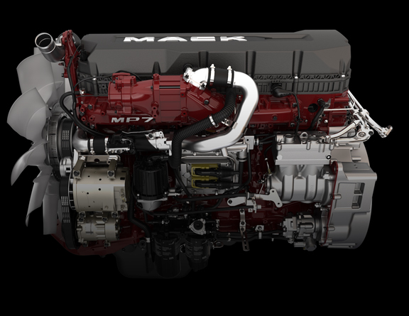 medium resolution of mp7 semi truck engine mack trucks mp 7