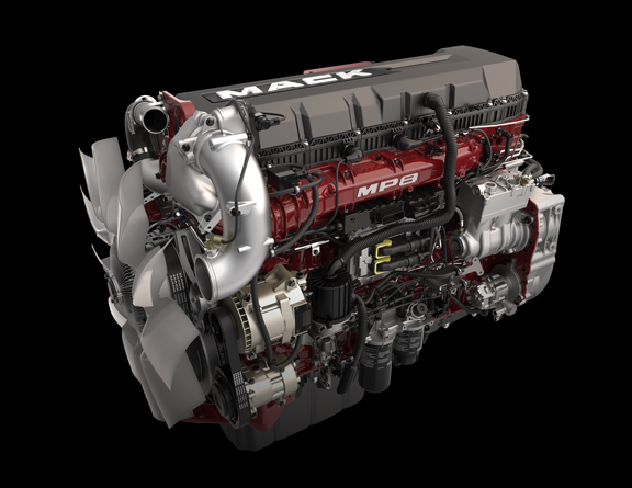 medium resolution of mp8he with energy recovery technology mack trucks rh macktrucks com mack mp7 engine mack truck engines