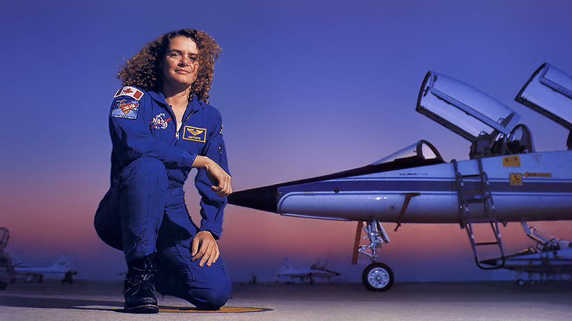 Image result for Julie payette pilot
