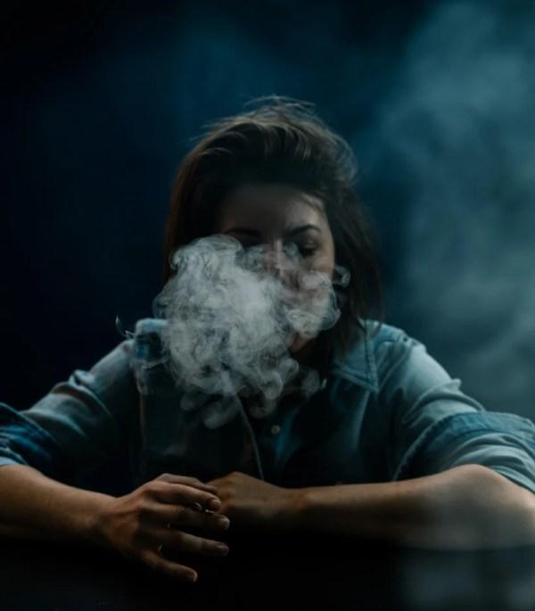 Teenager Smoking Joint