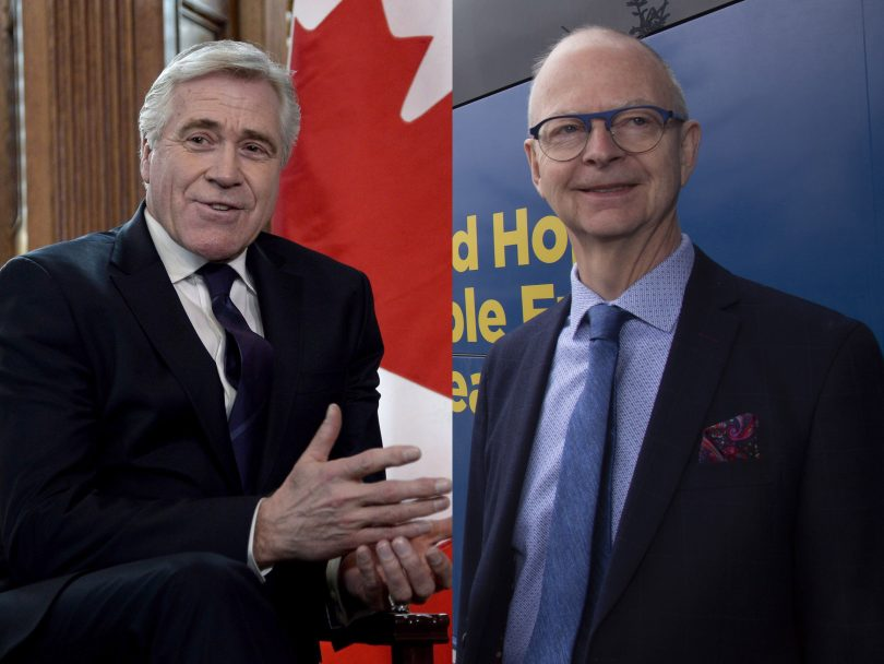 NEWFOUNDLAND LABRADOR ELECTION DWIGHT BALL CHES CROSBIE MAY15 HUTCHINS 810x608 - Think your election choice is tough? Try being a Newfoundlander