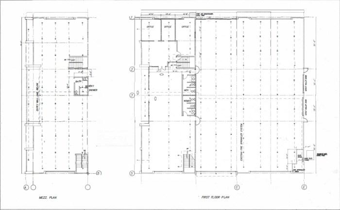 Space Plan - 2880 Howe Rd