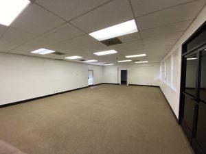 Classroom & open area in building