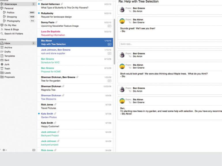 Apple Mail Sechs Alternativen fr Email am Mac  Mac Life