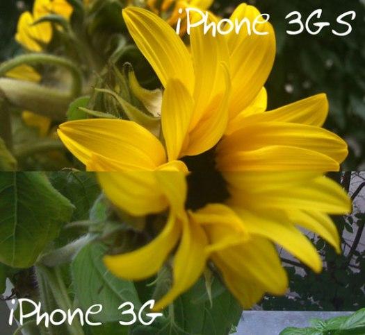 Bildqualitätsvergleich zwischen iPhone 3G und 3GS