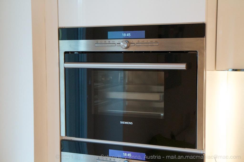 Testbericht: Siemens Einbau-Dampfgarer HB26D552