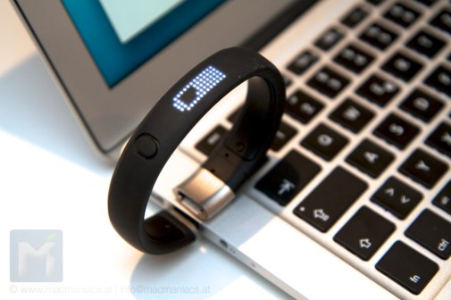 Fuelband am MacBook