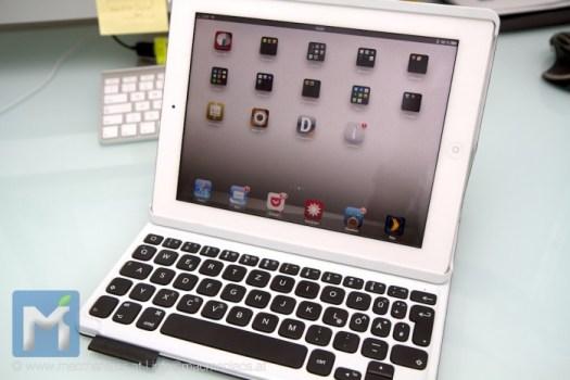Folio mit montiertem iPad