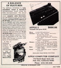Apple ad from 1976