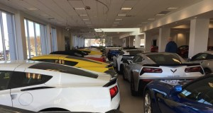 MacMulkin Chevrolet's Corvette Showroom