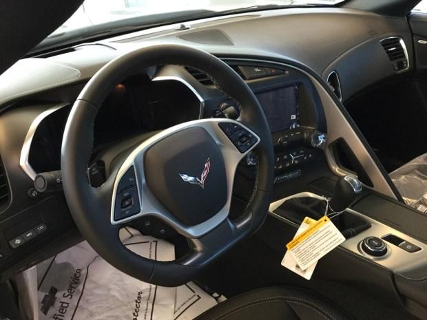 2016 Corvette Stingray Coupe 2LT in Shark Gray Metallic