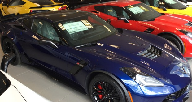 2016 Corvette Z07 >> Just Arrived 2016 Corvette Z06 Z07 Admiral Blue 3lz