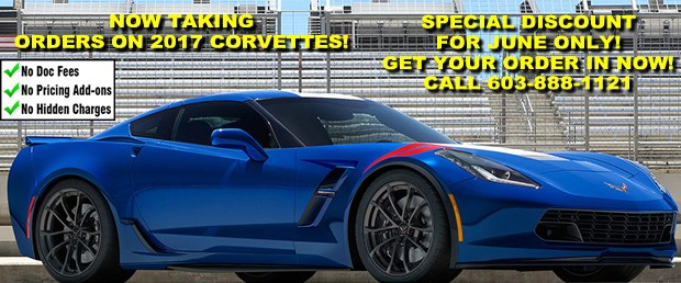 2017 Corvette Orders - June Discount