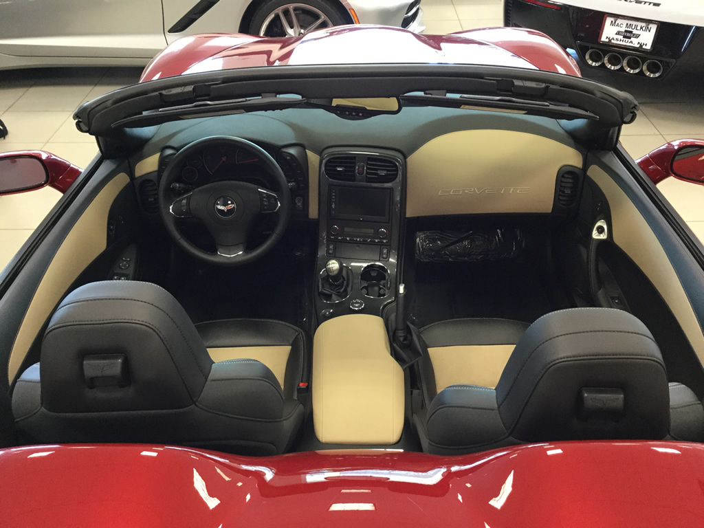 2013 Corvette Grand Sport 427 Convertible – Stock #8893A - Only 5,631 Miles!