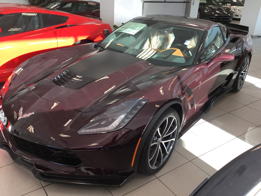 2017 Corvette Grand Sport - Black Rose Metallic
