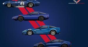 Four Generations of Corvette Grand Sport