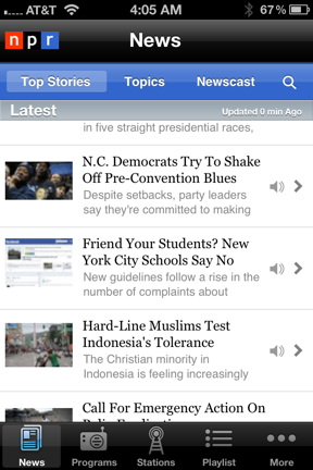 3 Free Ios Apps For News Hounds The Mac Observer
