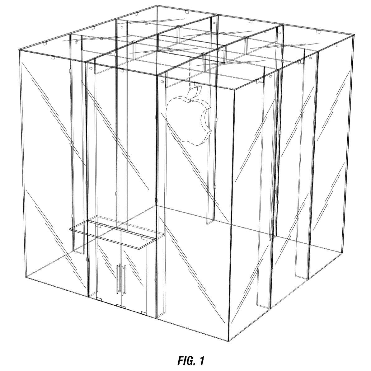 Apple Granted 14 Years Protection for 5th Ave Glass Cube