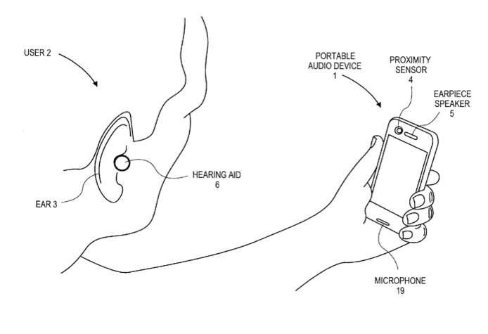 Apple iPhone Patent App Automatically Detects Hearing Aids