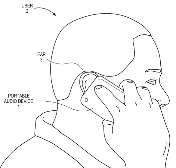 Apple Hearing Aid Patent Application