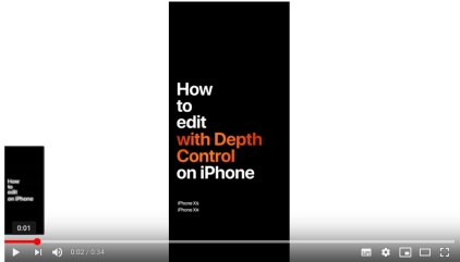Apple's 5 Minute Video Tour for Navigating iPhone XS/XS Max