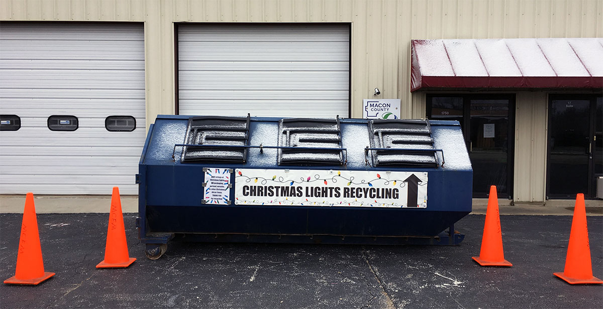 Recycle Christmas Lights 2020 Near Me Recycling over the Holidays: Christmas Lights & More! – Macon