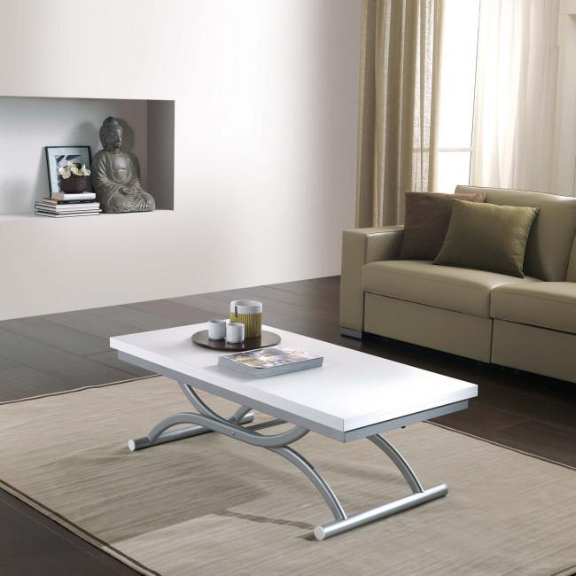 Tavolino trasformabile in tavolo quadrato CoAla