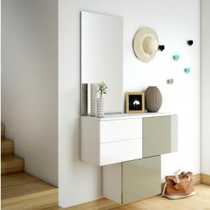 Cómo decorar un recibidor pequeño | decorar tu casa es facilisimo.com. Mobili Ingresso Moderni
