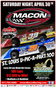 04-30-16 Lucas Oil Late Model Flyer