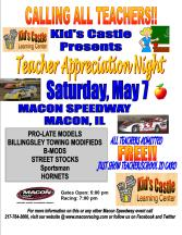 Kid's Castle Teachers Night 2016