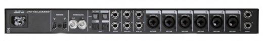 Mackie Onyx Blackbird FireWire audio interface, rear ports