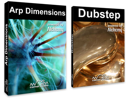 Camel Audio - Arp Dimensions and Dubstep for Alchemy