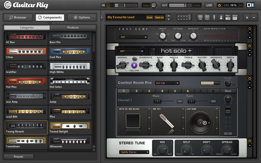 Native Instruments Introduces GUITAR RIG 5 PRO