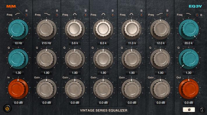 Mellowmuse 7-Band Vintage EQ3V