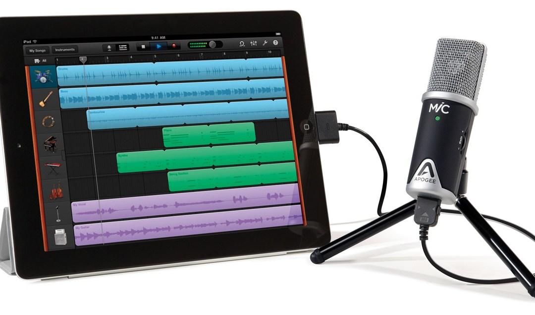 Apogee Liberates MiC for Mac, iPad and iPhone