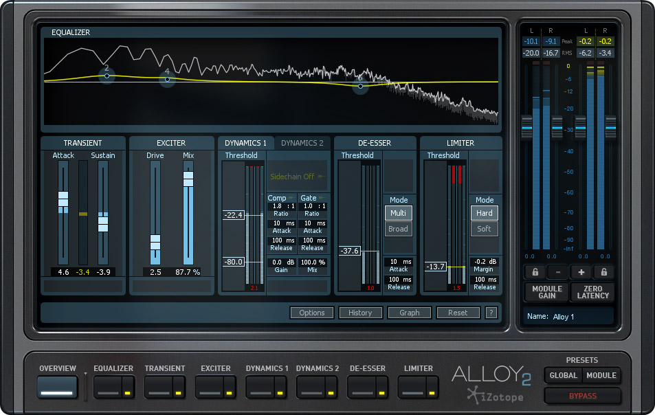 iZotope Spins Up Alloy 2