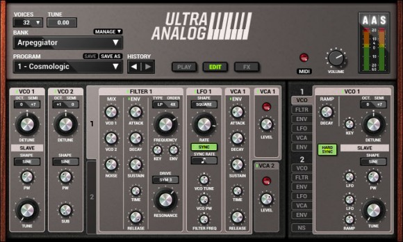 AAS Ultra Analog VA-2